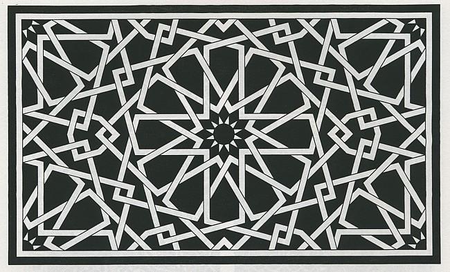 Islamic Art 2 Free DXF File