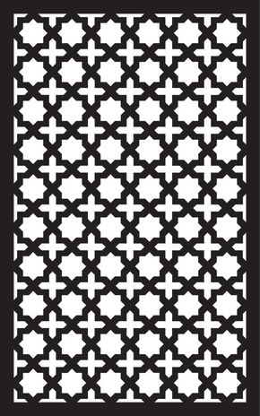 Islamic Art 4 Free DXF File