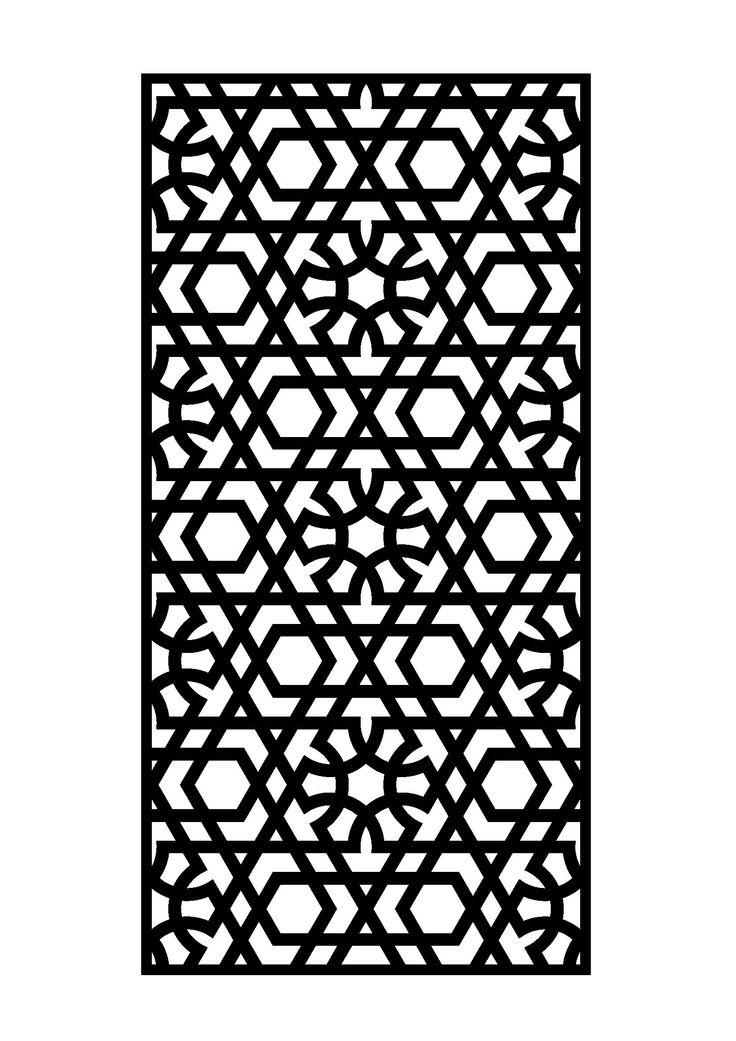 Islamic Art 5 Free DXF File