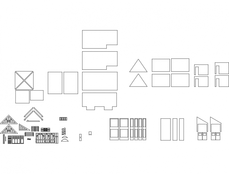 Dolls House Templates Free DXF File
