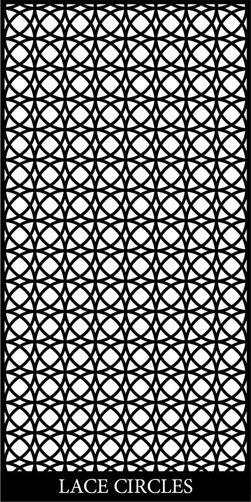 Lace Circles Free DXF File