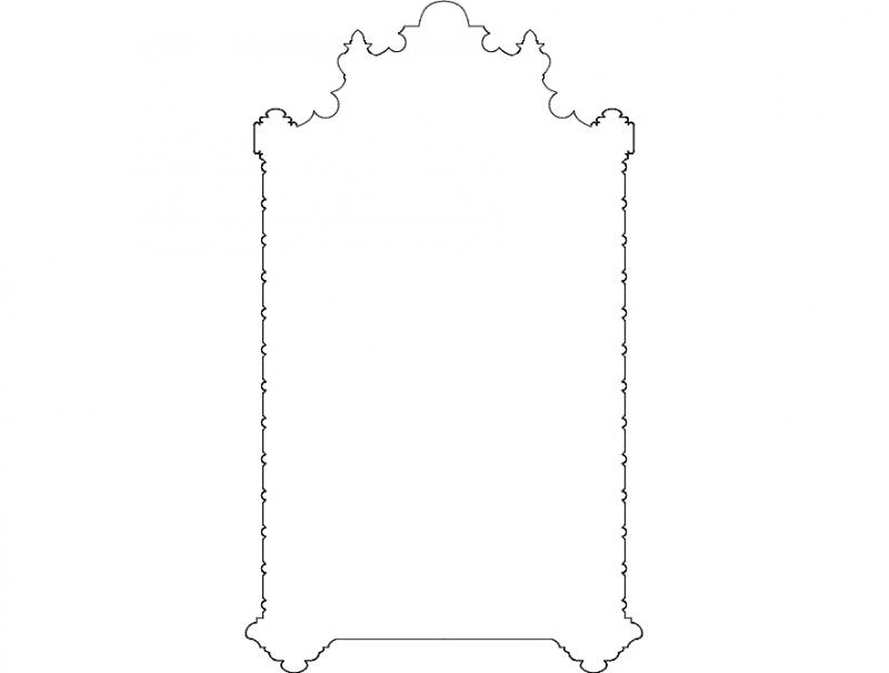 Ornament Deco Free DXF File