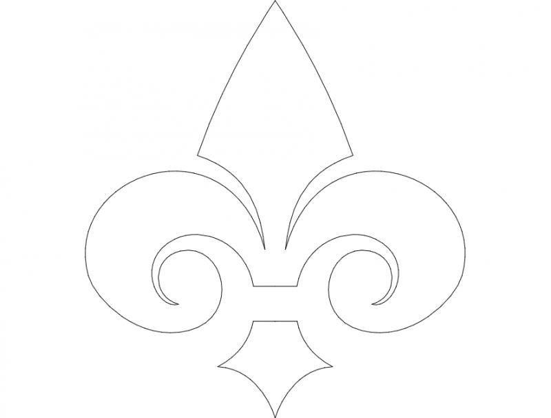 Ornament Design Free DXF File
