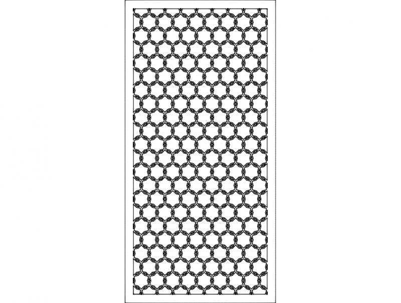 Wall Separator 1 Free DXF File