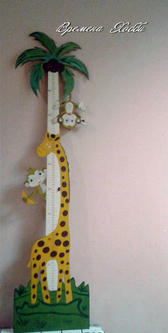 Laser Cut Animal Ruler For Kids Free CDR Vectors Art