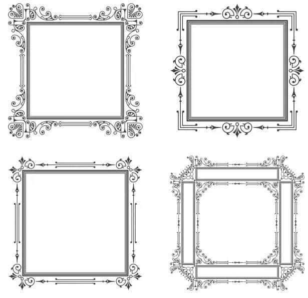 Decorative Frame Vector Set Artwork Free CDR Vectors Art