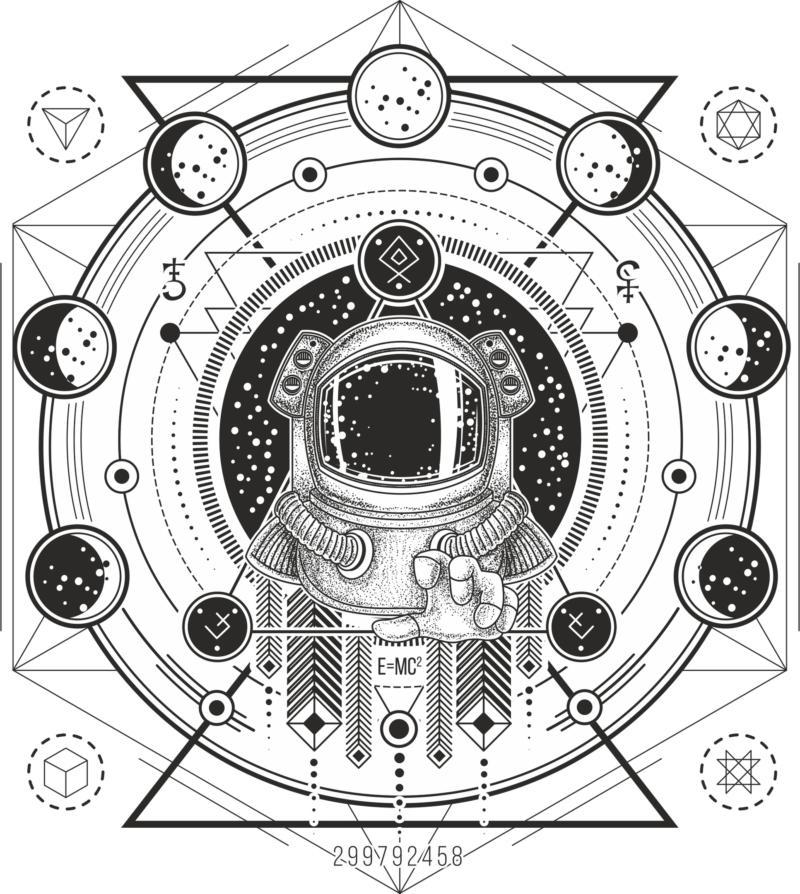 Cosmo Print Free CDR Vectors Art
