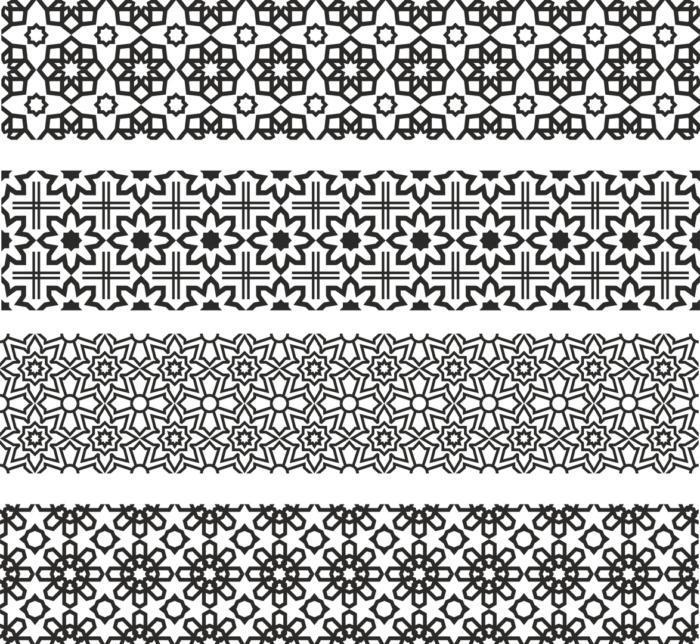 Floral Ornament Patterns Free CDR Vectors Art