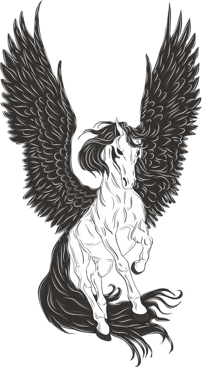 Pegasus Free CDR Vectors Art