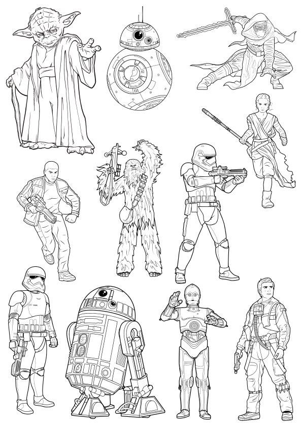 Star Wars Free CDR Vectors Art