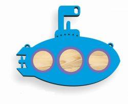 Cnc Laser Cut Submarine Toy Children Free CDR Vectors Art