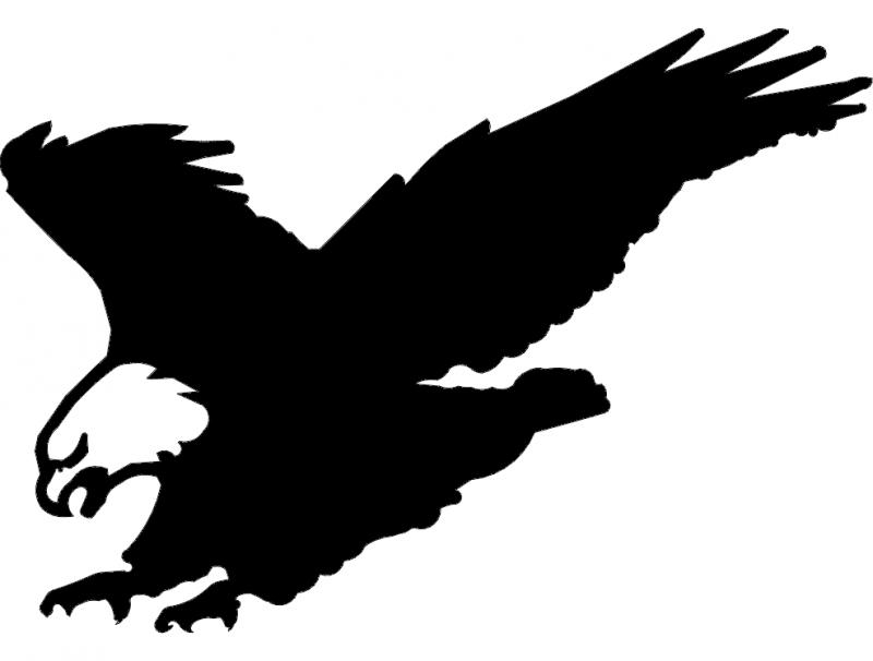 American Eagle Landing Free DXF File