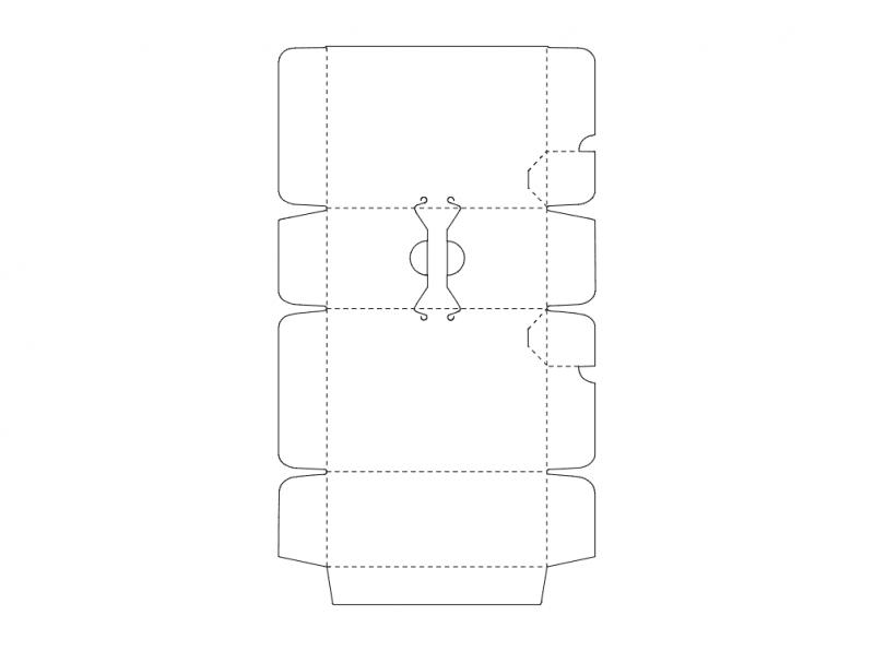 Box Design Idea Free DXF File