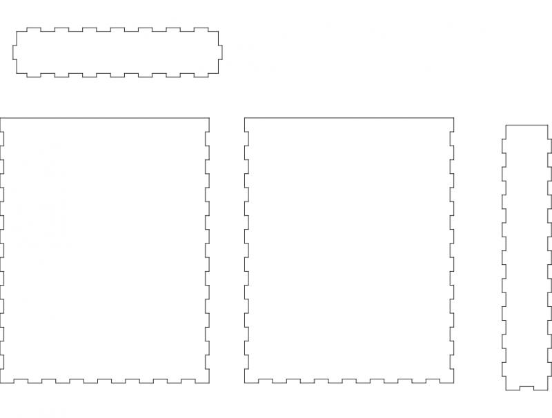 Boxpaper Free DXF File