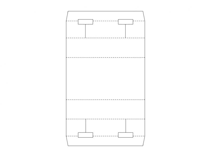Carton Packaging Design Free DXF File