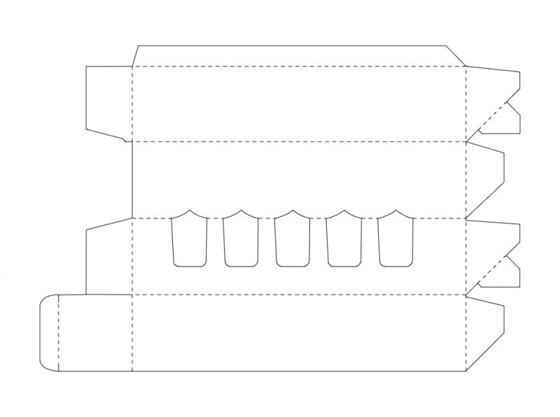 Creative Box Design Free DXF File