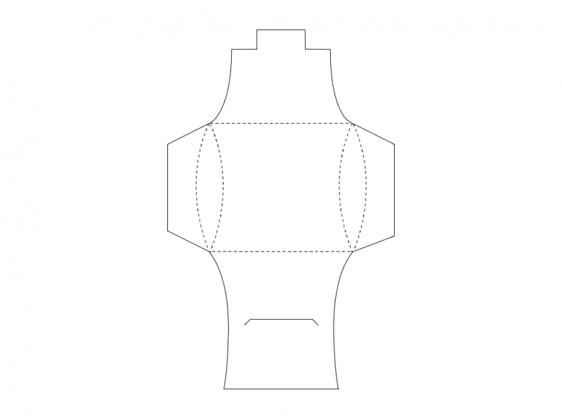 Package Design (4) Free DXF File