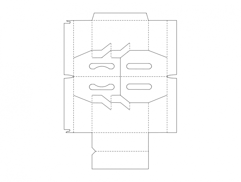 Packaging Box Templates Free DXF File