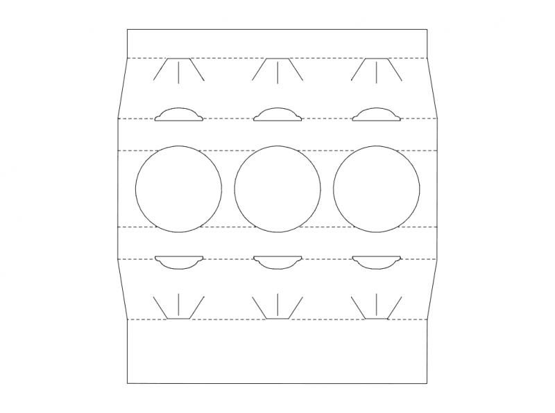 Packaging Design Cartoon Free DXF File