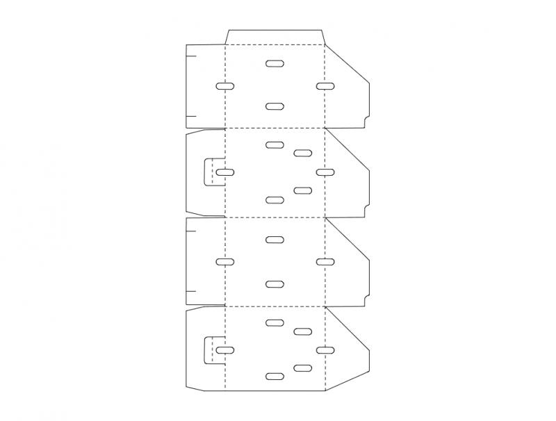Packaging Design Vectors Free DXF File