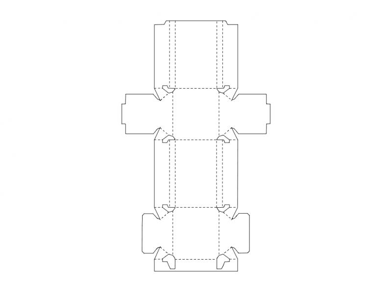 Packing Box 2 Free DXF File