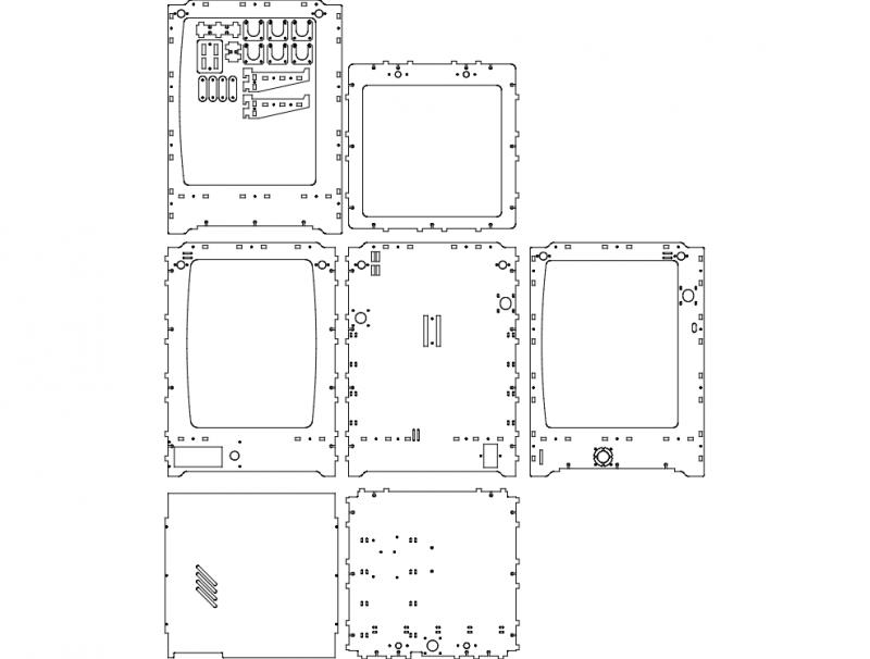 Ulti v1.0 – Box Free DXF File