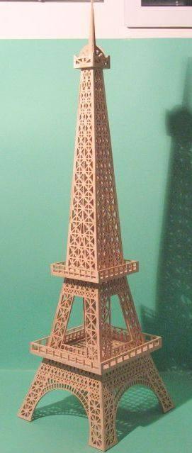 Eiffel Tower Free DXF File