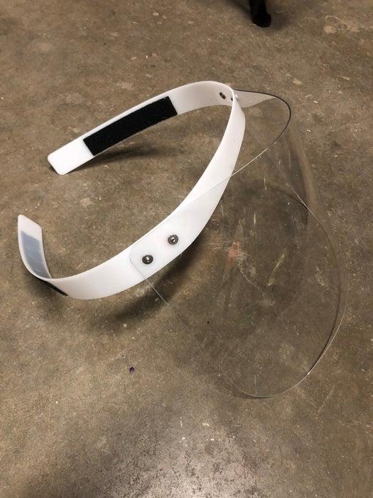 Face Shield Laser Cut Plan Free DXF File