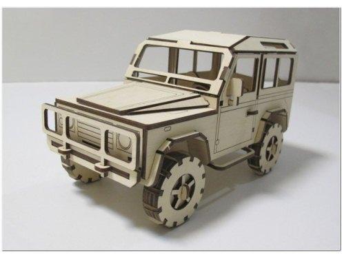 Jeep Laser Cut Plan Free DXF File