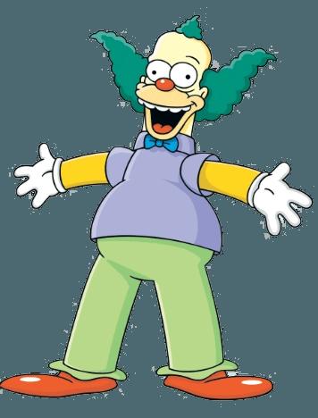 Krusty Clown Shape Free DXF File