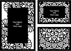 Cnc Laser Cut Wedding Card Download Free CDR Vectors Art