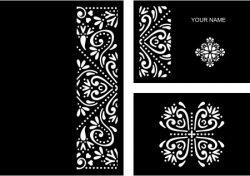 Cnc Laser Cut Wedding Card You Download Free CDR Vectors Art