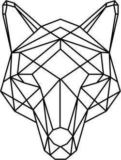 Cnc Laser Cut Wolf Head Art Download Plasma Free CDR Vectors Art