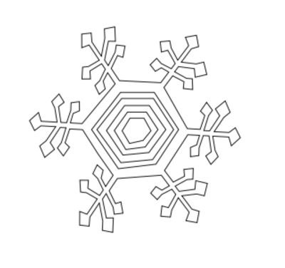 Laser Cut Kinetic Snowflakes Free DXF File
