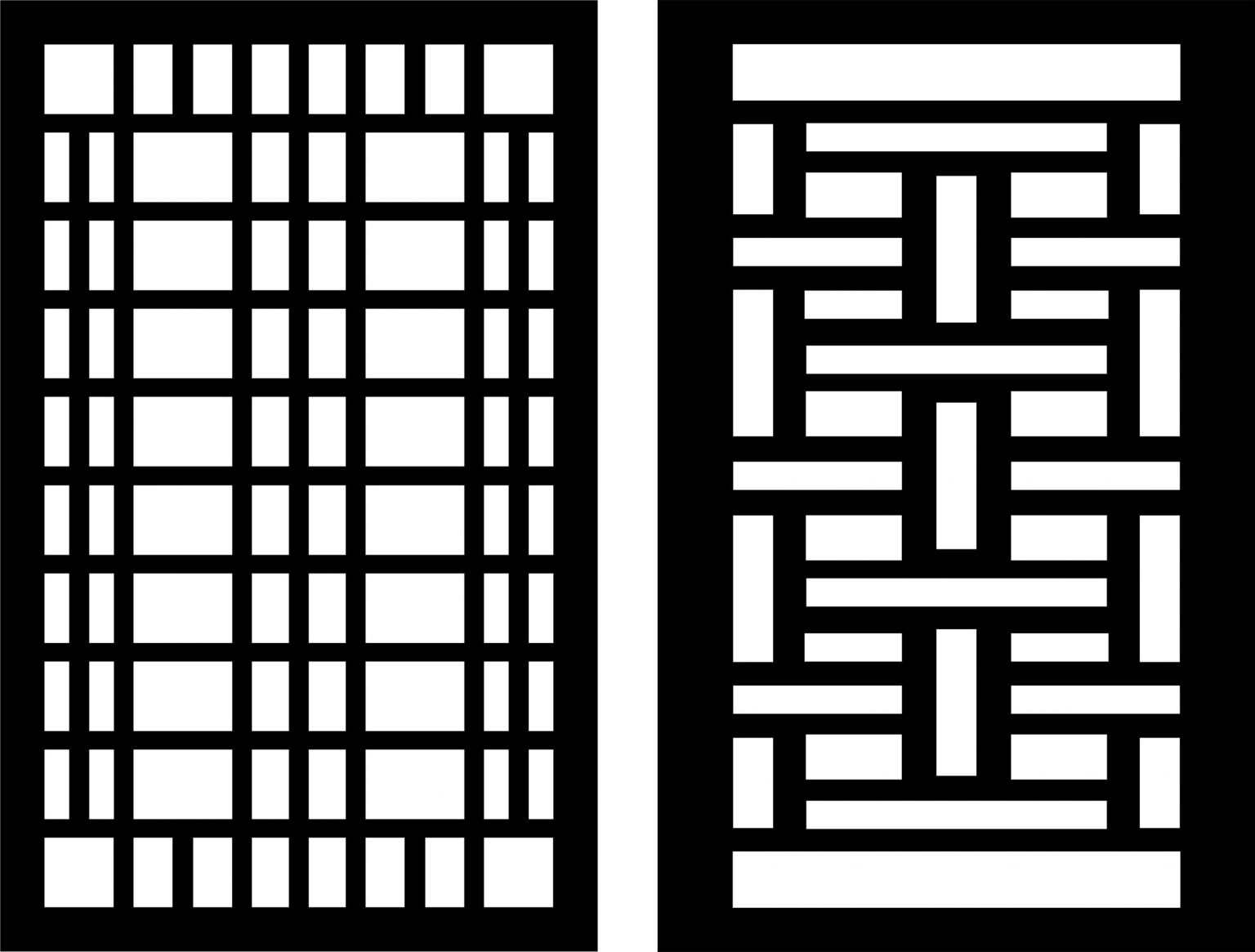 Decorative Screen Patterns For Laser Cutting 20 Free DXF File