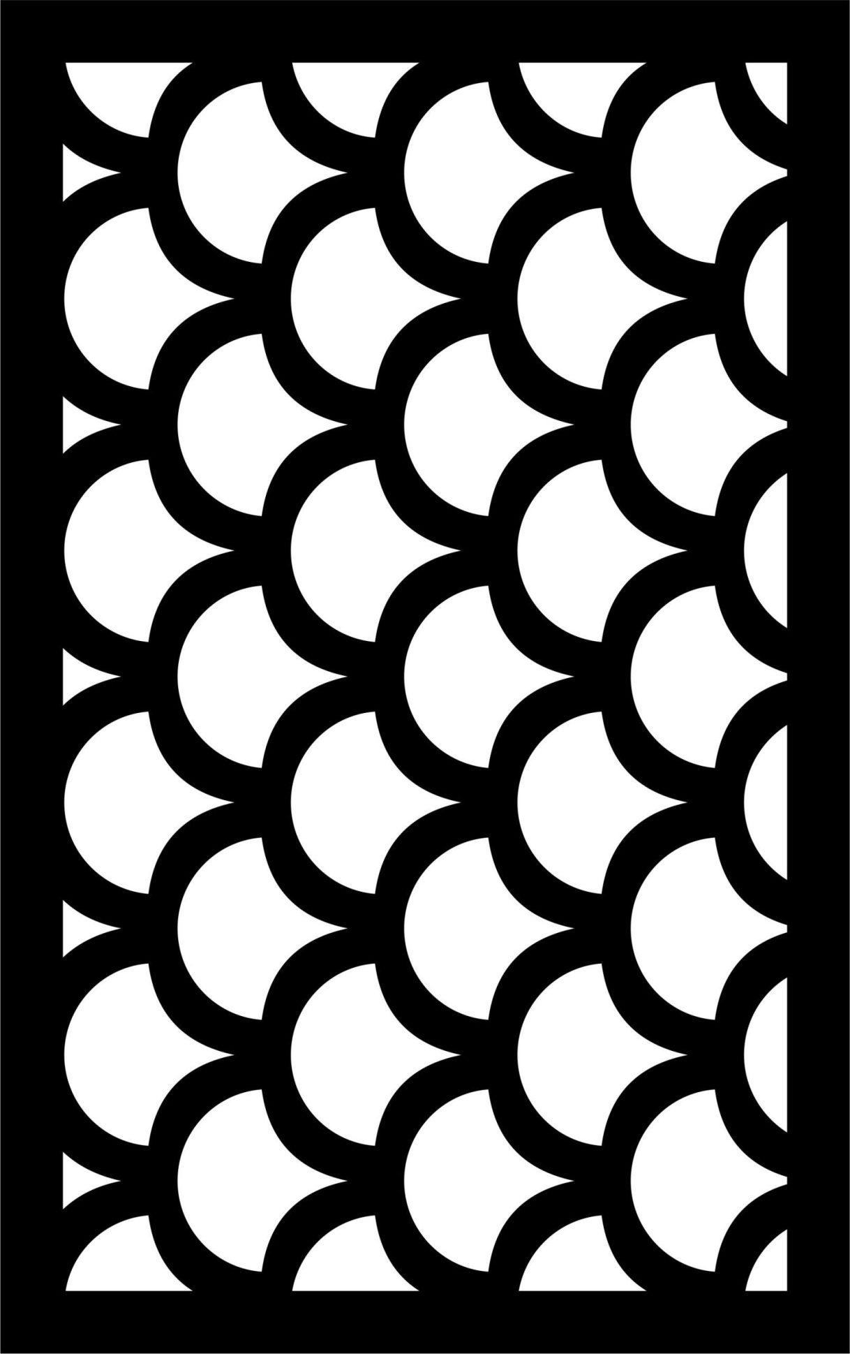 Decorative Screen Patterns For Laser Cutting 21 Free DXF File
