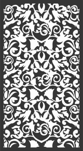 Decorative Screen Patterns For Laser Cutting 48 Free DXF File