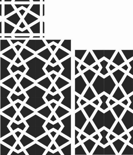 Decorative Screen Patterns For Laser Cutting 51 Free DXF File