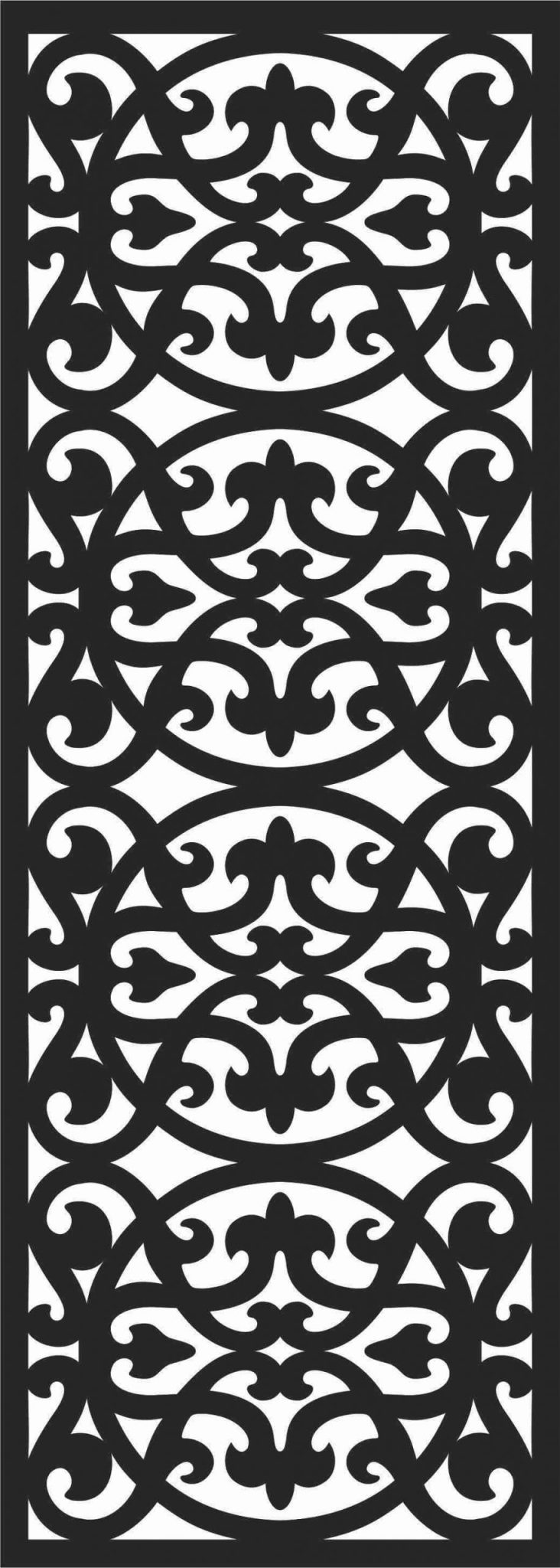 Decorative Screen Patterns For Laser Cutting 57 Free DXF File