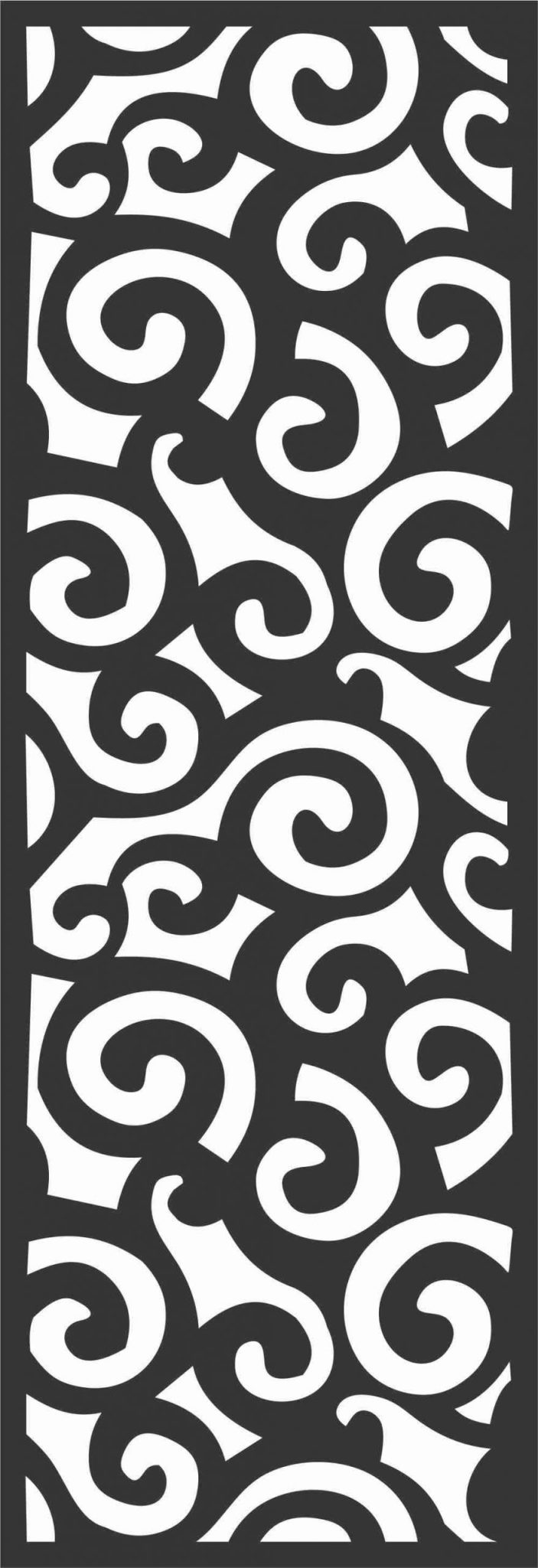 Decorative Screen Patterns For Laser Cutting 67 Free DXF File
