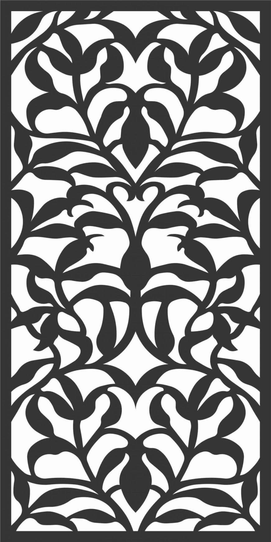 Decorative Screen Patterns For Laser Cutting 70 Free DXF File