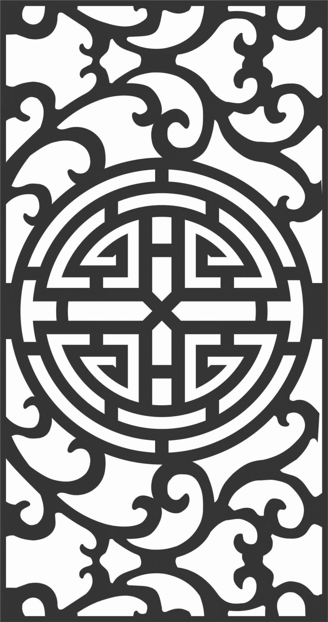 Decorative Screen Patterns For Laser Cutting 71 Free DXF File