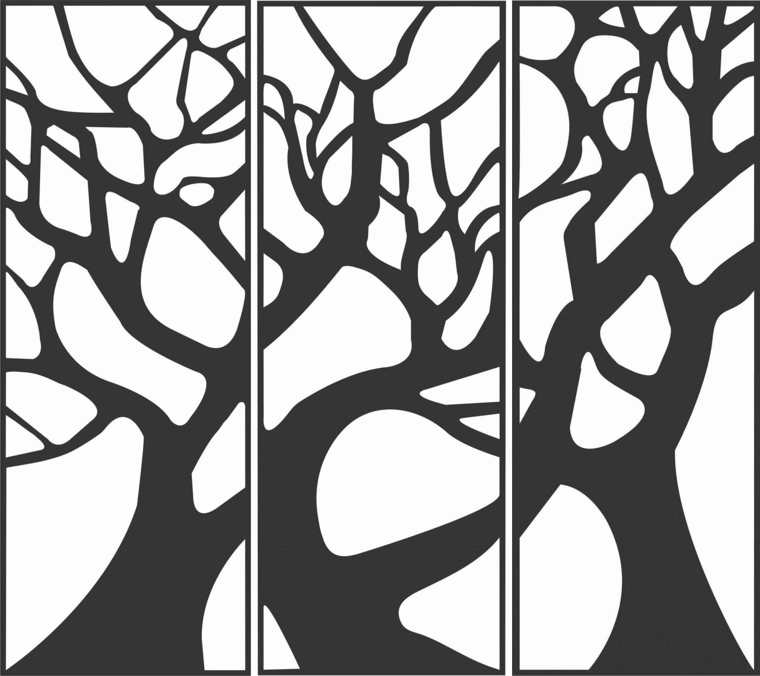 Decorative Screen Patterns For Laser Cutting 72 Free DXF File