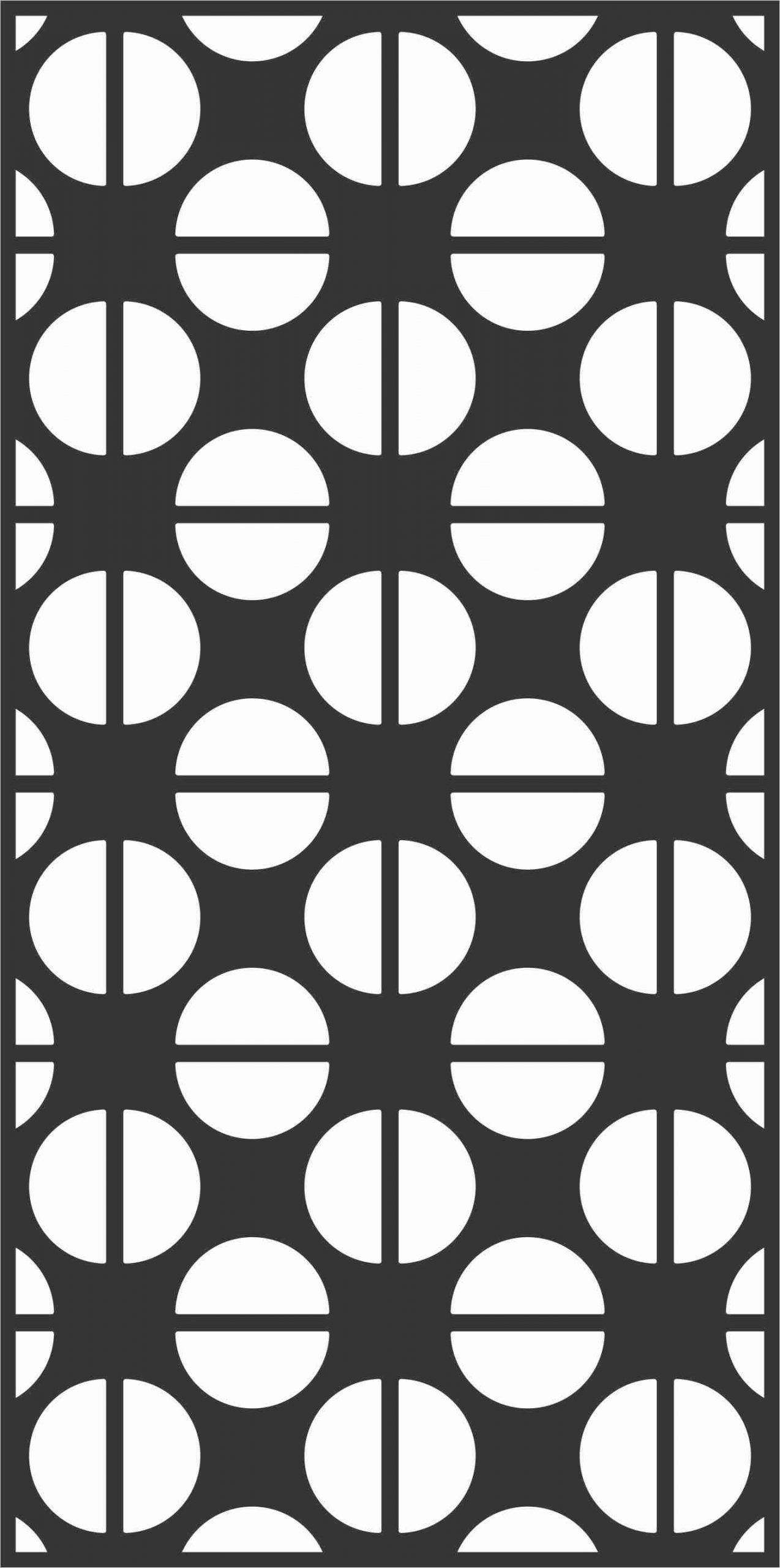 Decorative Screen Patterns For Laser Cutting 74 Free DXF File
