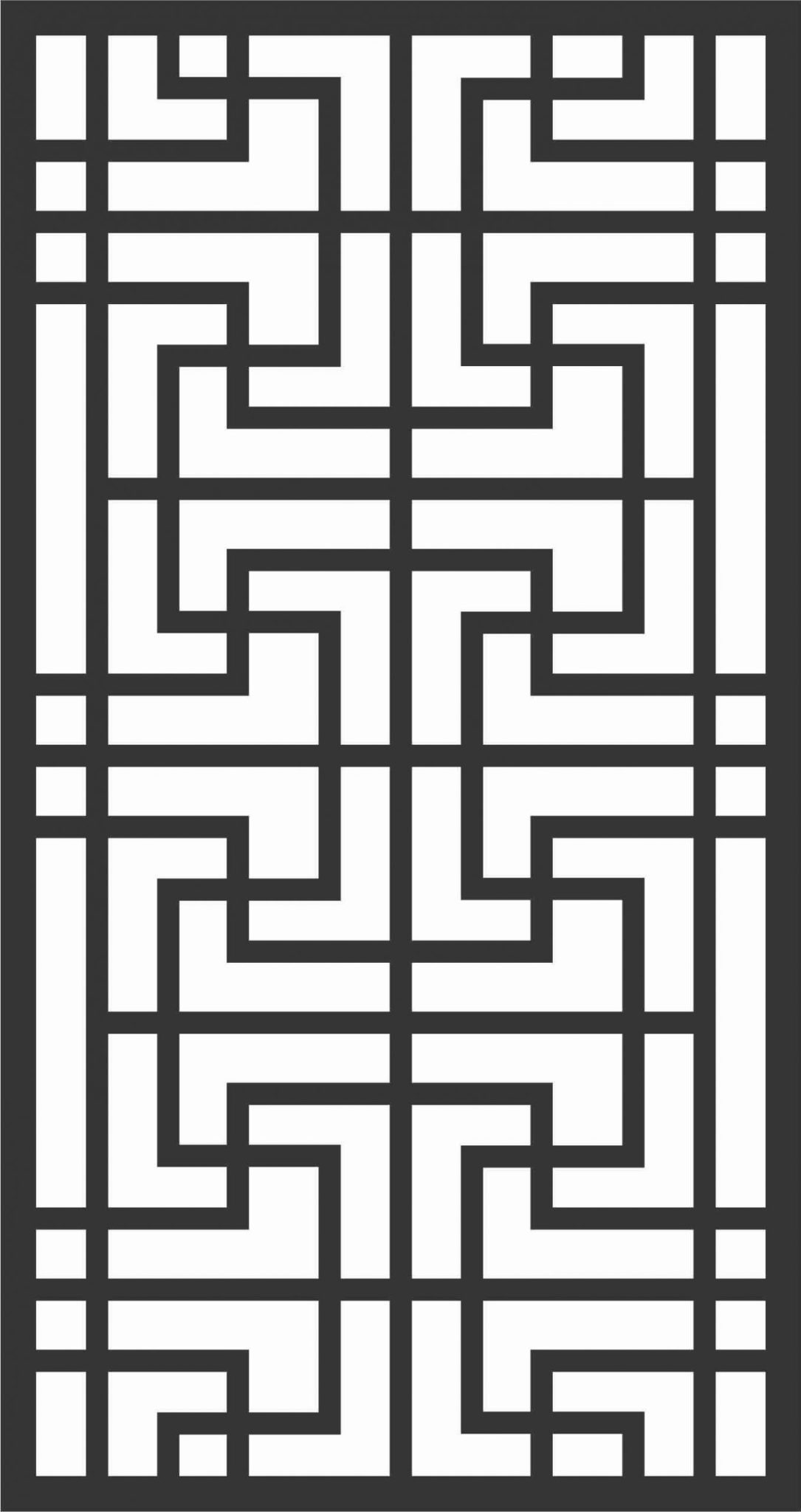 Decorative Screen Patterns For Laser Cutting 76 Free DXF File