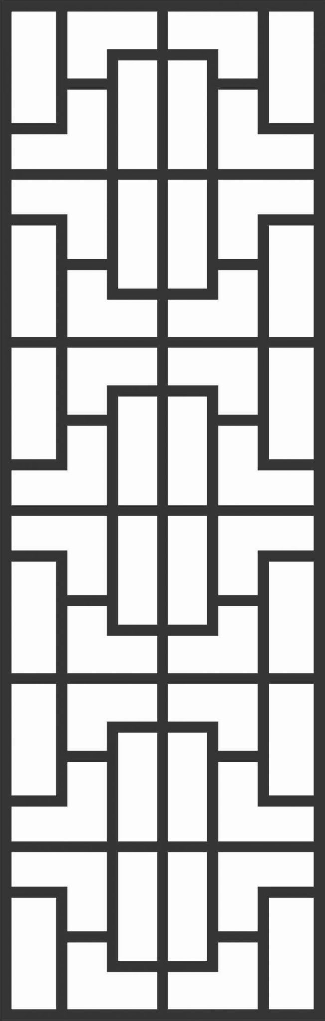 Decorative Screen Patterns For Laser Cutting 79 Free DXF File