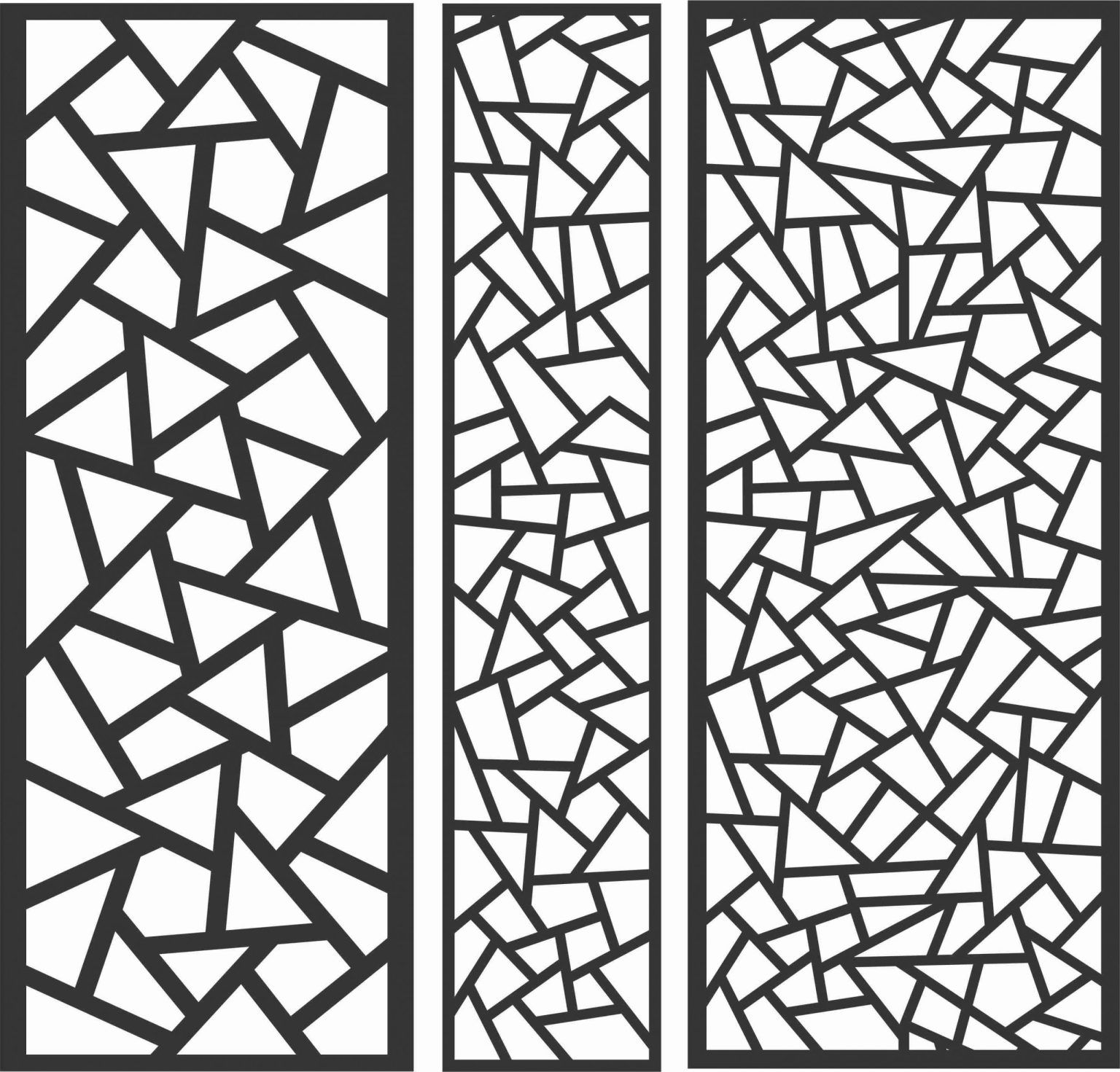 Decorative Screen Patterns For Laser Cutting 80 Free DXF File