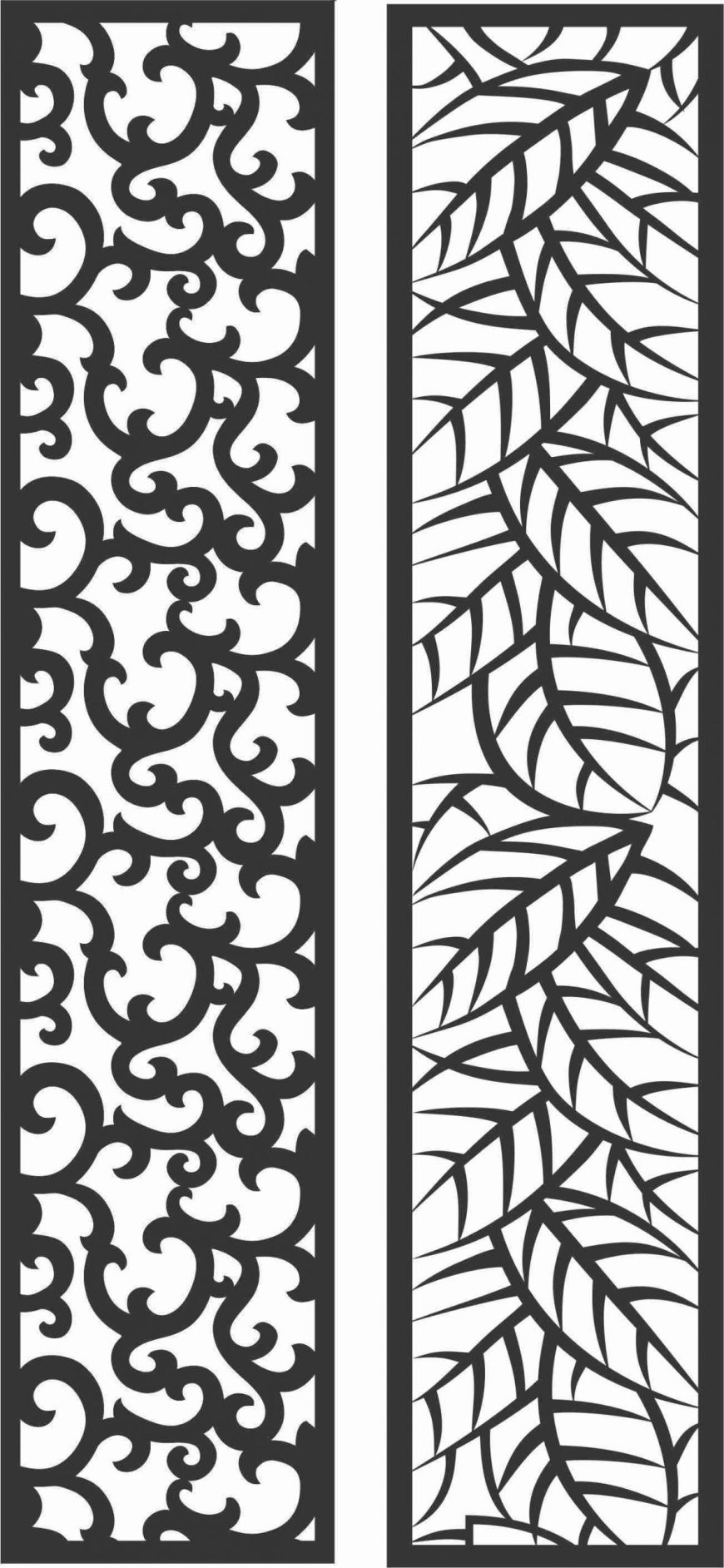 Decorative Screen Patterns For Laser Cutting 90 Free DXF File