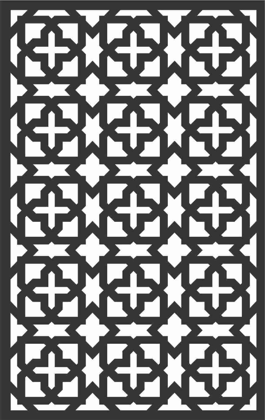 Decorative Screen Patterns For Laser Cutting 97 Free DXF File