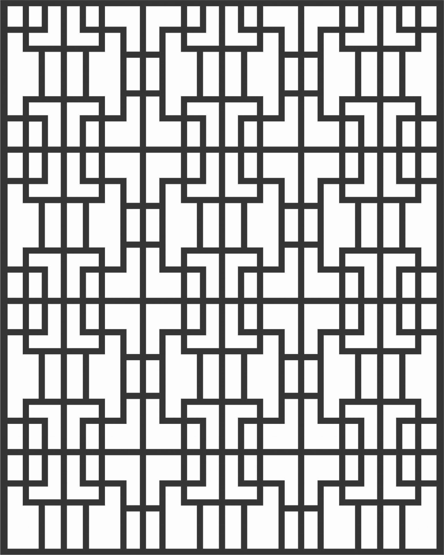 Decorative Screen Patterns For Laser Cutting 98 Free DXF File